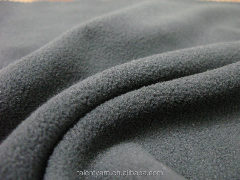 100% polyester fleece anti-piling knitted fabric textile