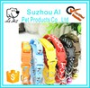 Wholesale Colorful Pet Cat Dog Cute Collar with bell