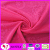 Free sample soft stretch floral jacquard kniting upholstery fabric underwear fabric
