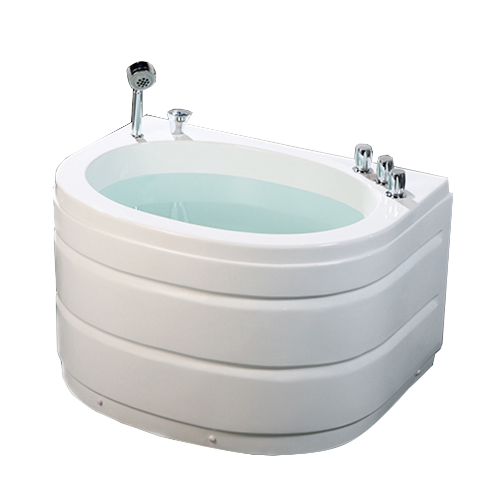 Hs B02 Custom Size Small Bathtub Soaking Tub With Seat 1m Product On Alibaba