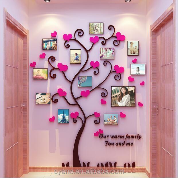 Self Adhesive Acrylic Mirror Wall Decorations, Self Adhesive Acrylic ...