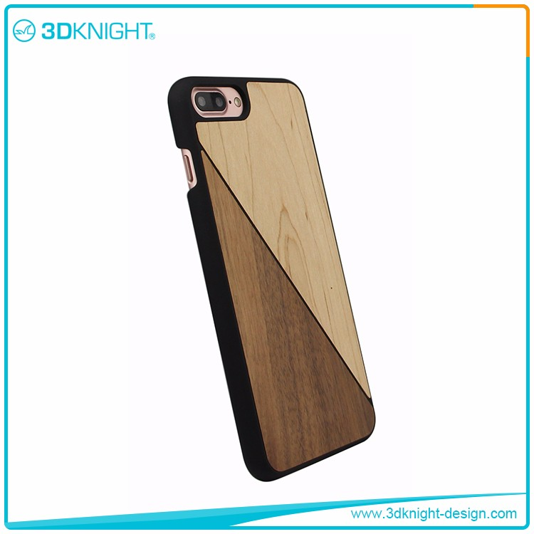 2017 eco friendly Wood mobile case for iPhone 7 case