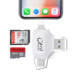 Multi-function mobile 4 in 1 for Apple Android Type-C camera otg card reader