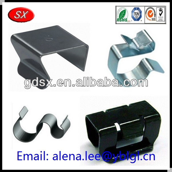 Dongguan factory stainless steel 304 auto metal clips/paper round metal clip