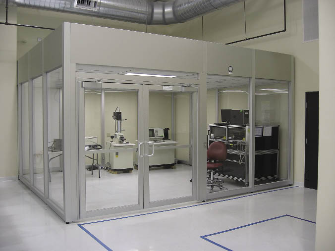 PIVA Laboratory, Class 10000 Clean Room, Class100 Clean Room Part 84