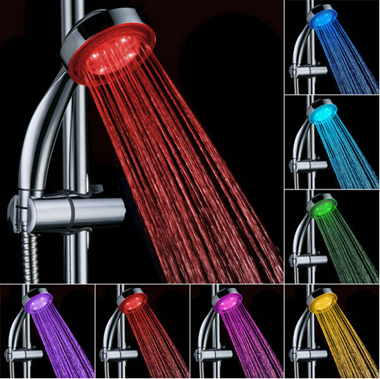 Wholesale LED Ceiling shower set/led hand shower/ led faucet ...