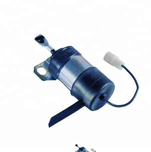 New 12V Stop Solenoid 052600-1001 for Kubota Tractor 15471-60010 Fuel Solenoid