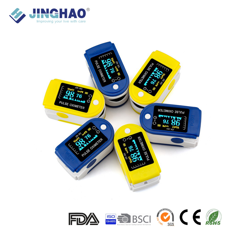OLED Display Free Sample Smart Fingertip Pulse Oximeter