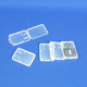 High Quality Transparent Mimi SD MMC TF Memory Card Small Plastic Case
