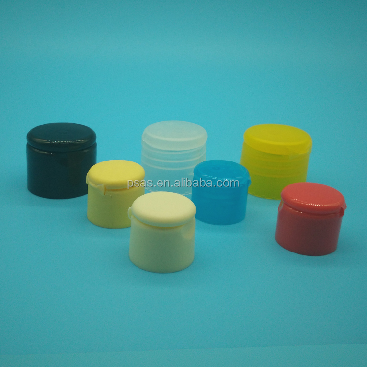 20,24,28 cosmetic bottle cap commonly use plastic lid body lotion container cap