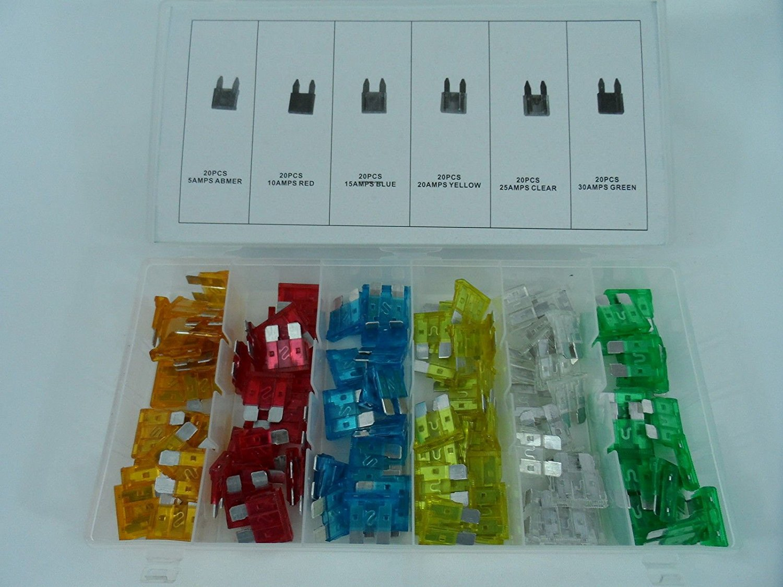 Titan Tools 45227-96pc Std Automotive Fuse Assortment