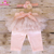 High Quality Cotton Baby Lace Legging Girls Princess Leggings With Skirts