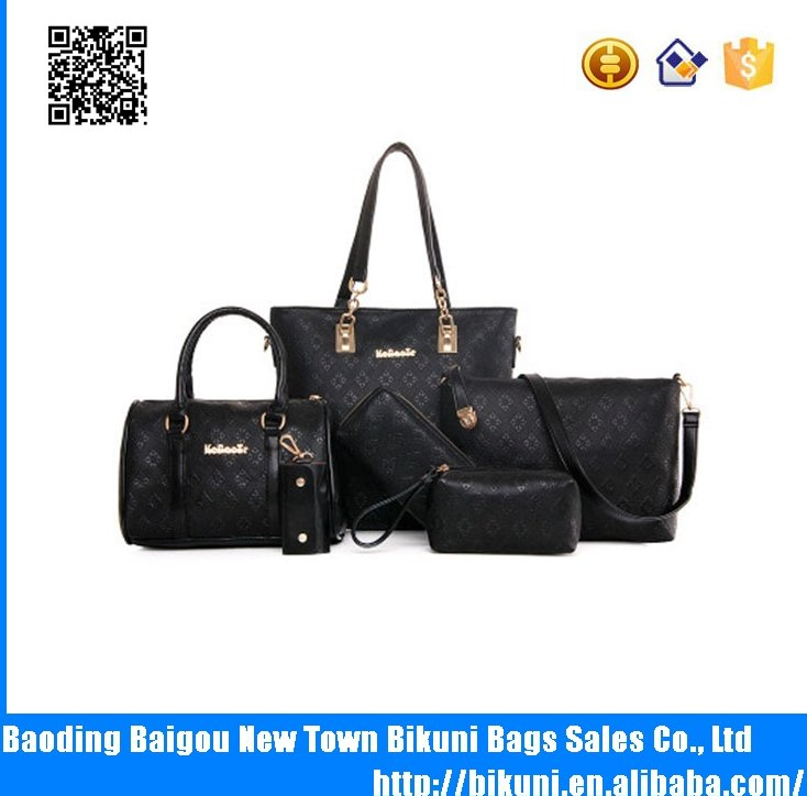 European fashion high quality pu leather bags woman cheap handbags OEM wholesale China made new design hand bags for girls