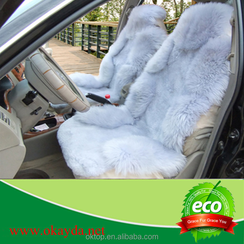 sheepskin seat cover for car/autot for toyota innova car accessories