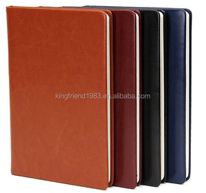 Vintage leather notebook business notebook can be customized on behalf of a Logo office stationery