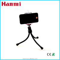 Pocket mini aluminum tripod,mobile phone lens tripod