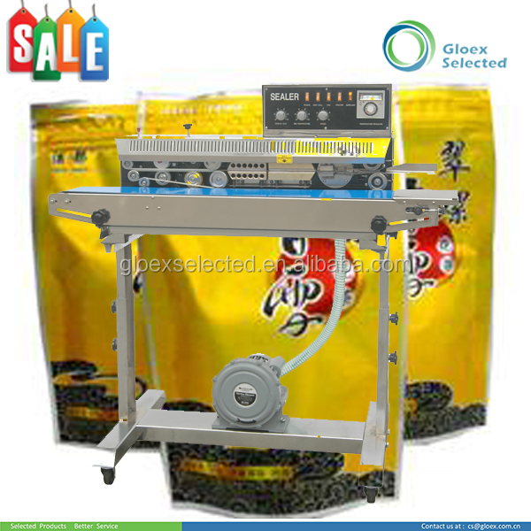 CE approved vertical Solid Ink Coding continuous coffee bag sealer