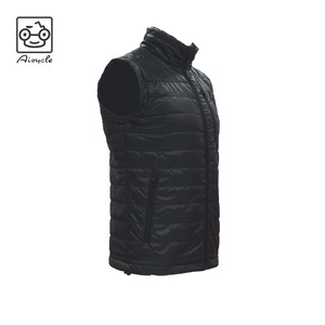 Men Sleeveless Electric Heated Down Vest Battery Heat Vest On Sale