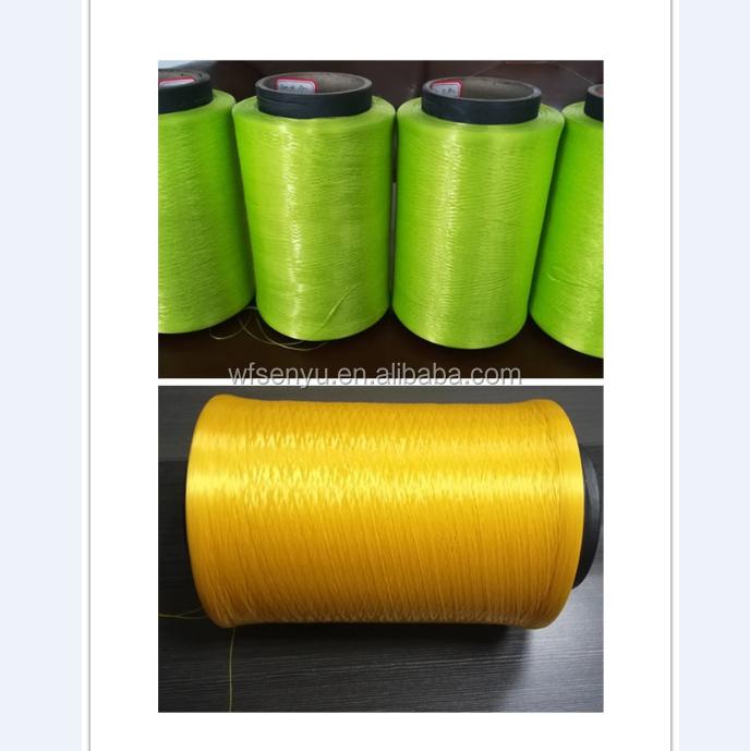 1000d polypropylene colorful high tenacity pp Yarn