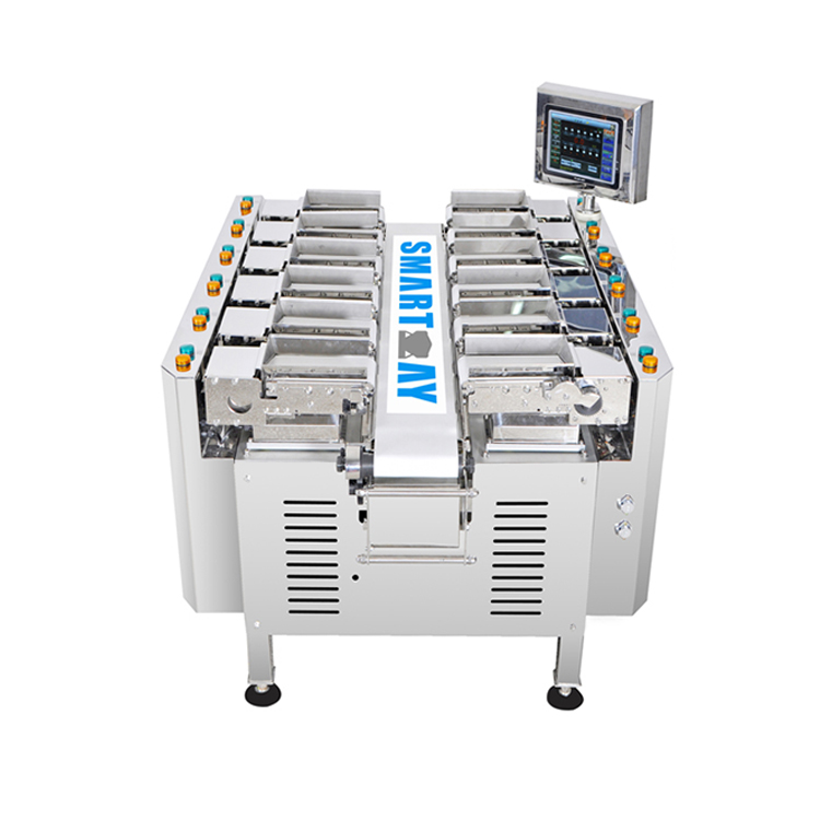 Smart Weigh pack small multihead weigher factory price for food weighing-4