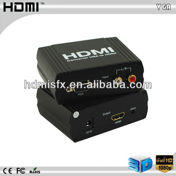 vga to hdmi convertor,high definition vga to network converter,1080P HDTV Converter