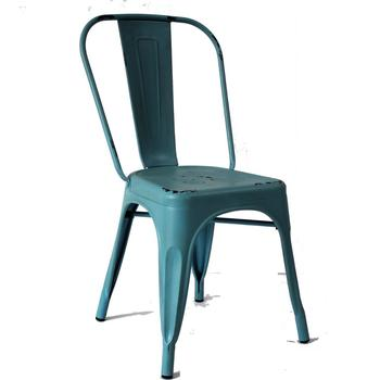 Merveilleux Black Metal French Bistro Chair Europe Metal Chair