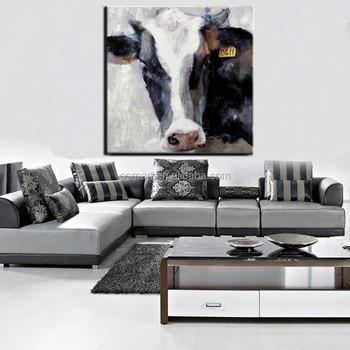 Moderne Gespannen Dieren Canvas Schilderij Wanddecoratie Modern Art ...