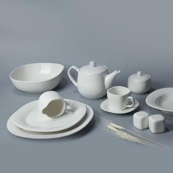 Ceramic Catering Dinner Plates Restaurant Serving Dishes Plate For Hotel  Disposable Tableware For Wedding Crockery Dnnerware Set - Buy Crockery