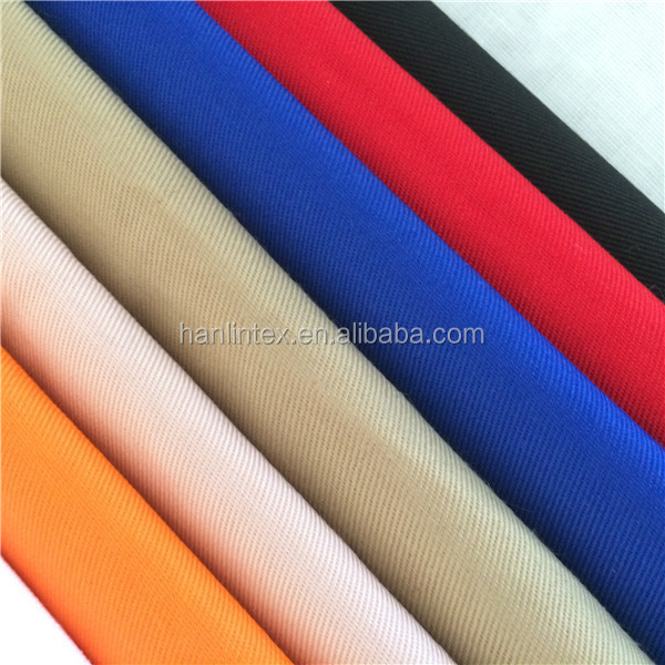 twill  woven textile cotton fabric 32s 130*70 for shirt,pants
