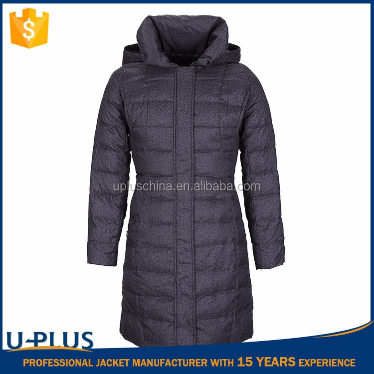 Luxurious winter down coat with fur hood fancy clothes