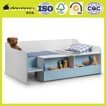 Glücklich Betten Kabine Bett 3ft Holz Niedrigen Sleeper Lagerung Kinder  Schlafzimmer Matratze