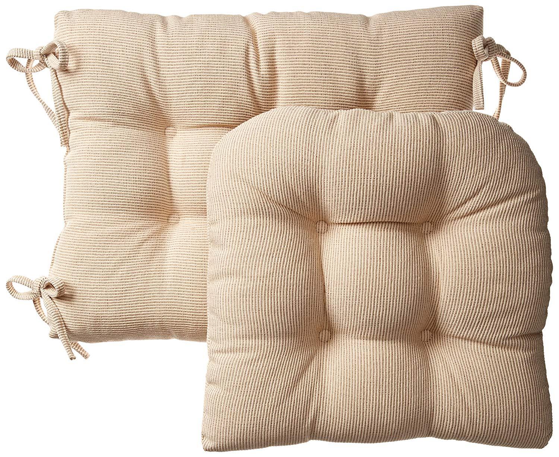 Get Quotations Klear Vu Gripper Jumbo Saturn Rocking Chair Cushion Set Natural