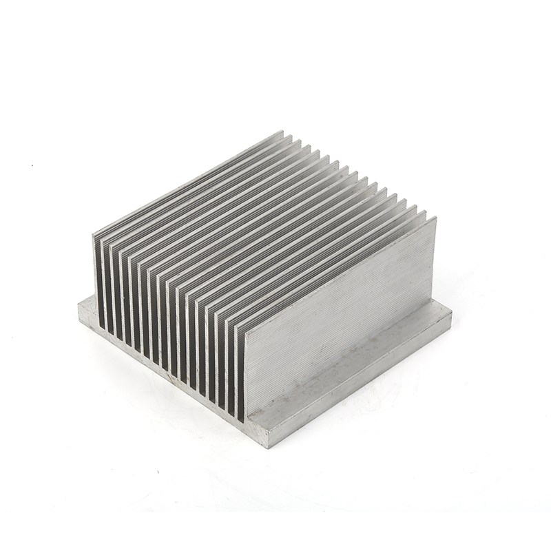 Factory supply extrusion aluminum radiator small round use for electronic