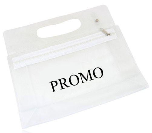 Customized Cheap PVC Clear Cosmetic Bag With Zipper
