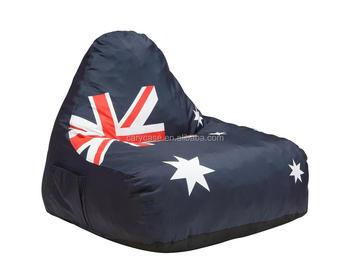 Fine Flag Printed Ocean Blue Adults Furniture Arm Chair Australia New Zealand Hot Selling Bean Bag Oem Buy Bean Bag Corner Sofa Relax Beanbag Pdpeps Interior Chair Design Pdpepsorg