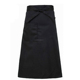 hot sale custom work kitchen chef waist apron black for restaurant