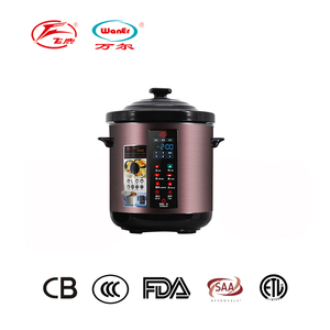 slow cooker large capacity household electric ceramic soup pot with clay cooking pot