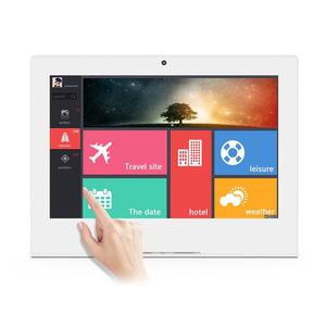 Nfc 2Gb 16Gb Desktop L Shape Rj45 Lan Port 10 Inch Customer Tablet Android Mini Pc All In One