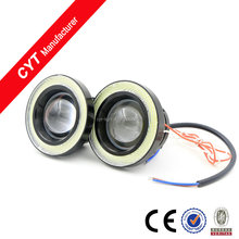 High quality 10W 12V Colourful Angel eyes LED Car/Auto Fog light