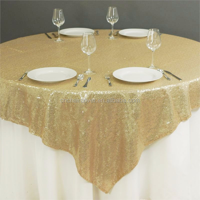 132 Inch Rose Gold Round Wholesale Sequin Tablecloth - Buy ...