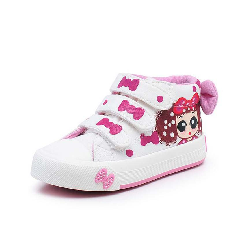 Cute Bow Children Shoes Spring Autumn Baby Sneakers for