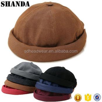 55ea6157c623e Skull Cotton Men s Washed Brimless Jeans Denim Baseball Hat For Sale ...