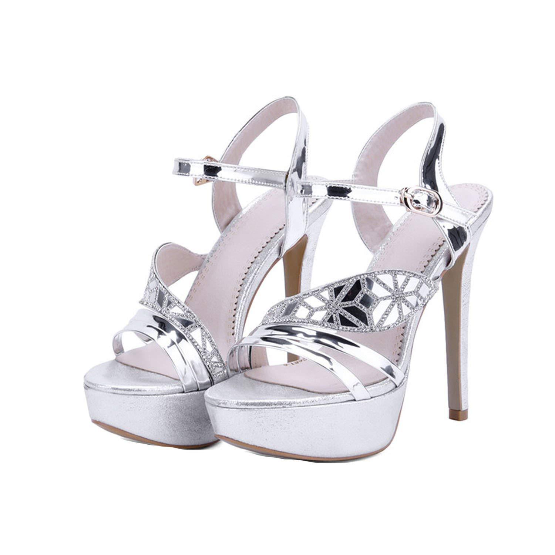 925f1377b954c6 Get Quotations · Sky-Pegasus 2018 Summer Women Fashion High Heels Sandal  Sexy Platform Party Dress Sandal Woman