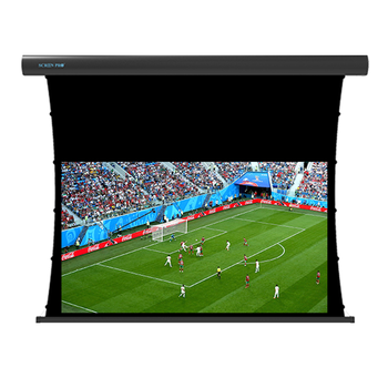 "180"" inch Projector screen home theater tab tensioned motorized Screen for home theatre"