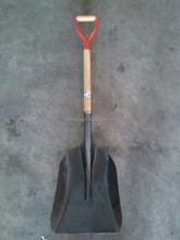 high quality, powder coated carbon steel head, Grain/Snow Scoop shovel