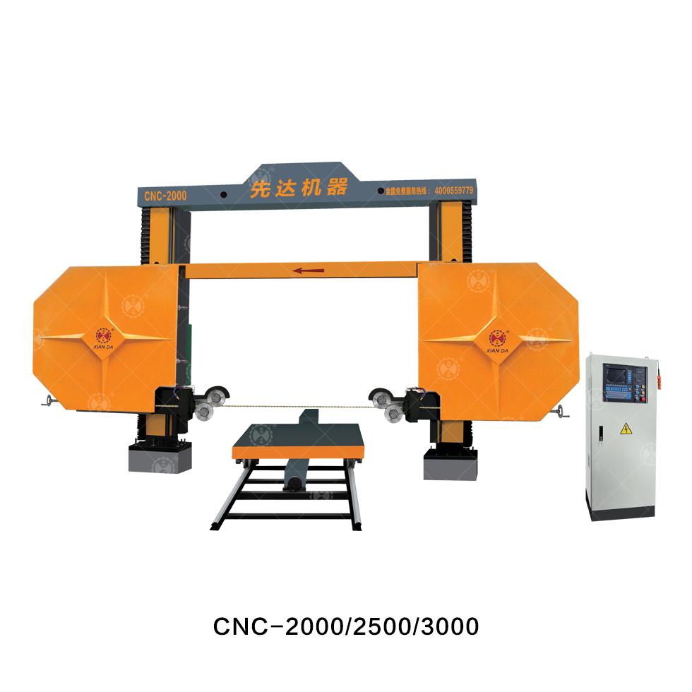 Cnc Diamond Wire Saw Machine Cnc-2000/2500/3000 from China ...