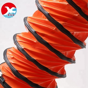 Safety Industrial Air Ventilator Pvc Duct Hose Pipe