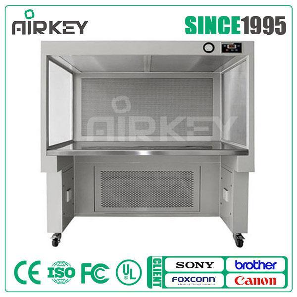 horizontal laminar air flow hood for labs