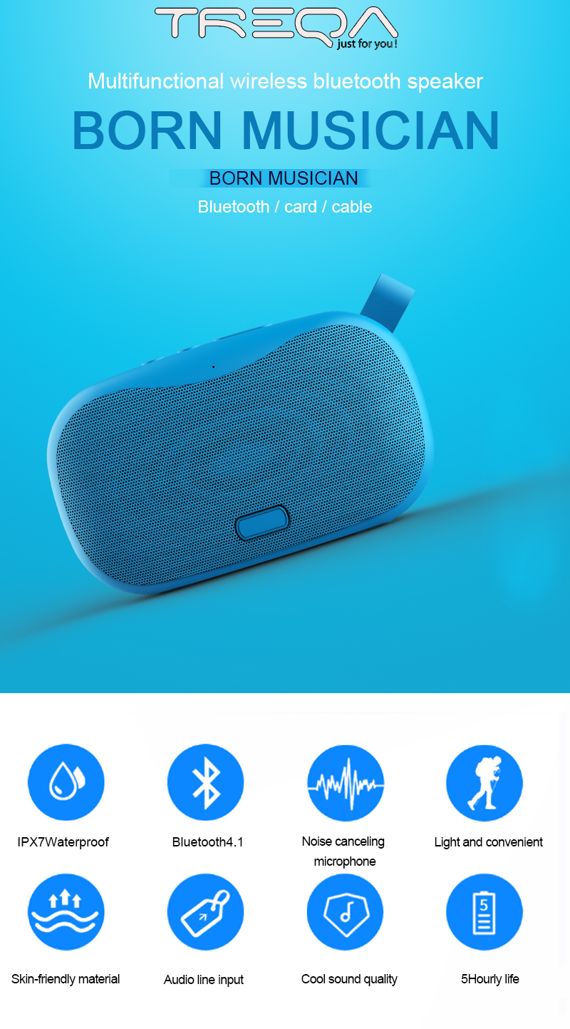 twins promotion gift customized OEM Mini Portable alexa Wireless Speaker Blue tooth