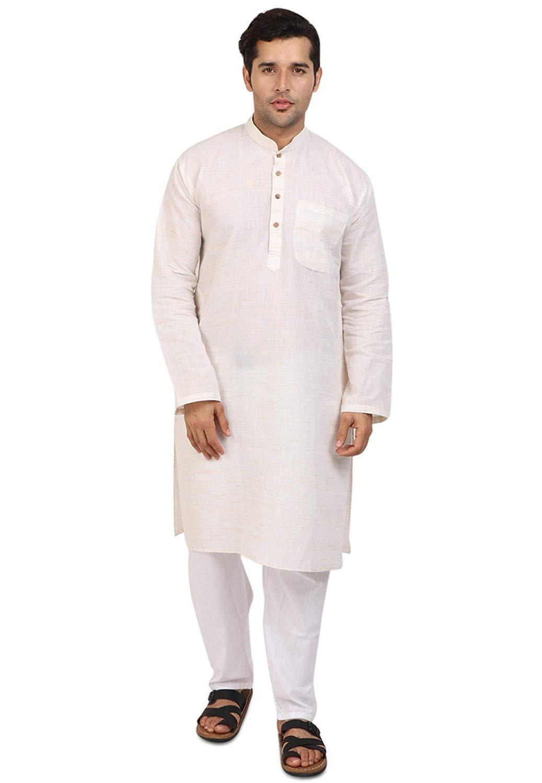 321792b3b5 Get Quotations · Cellora Men's Fashion Kurta Pyjama Khadi Cotton Designer Indian  Kurta Pajama Trendy Season Dress S-